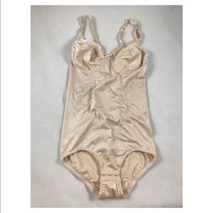 34B Nude one piece shape wear